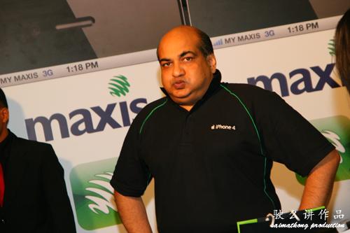 Maxis Chief Executive Officer, Sandip Das