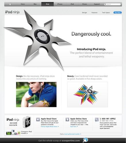 Apple's New iPod Ninja Device