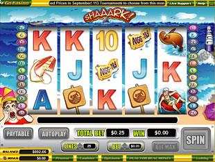Shaaark slot game online review