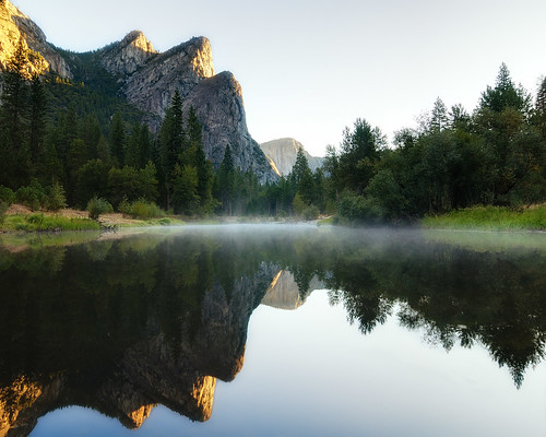 Three Brothers Morning, Yosemite National Park