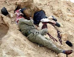 Reality of War - Dead Iraqi soldiers