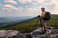 Ed Heaton Photographing Valley (Kelly_Heaton_Photography) Tags: camera trees man composition photographer westvirginia workshop valley creativecomposition kellyheaton edheaton loweproprotrekker