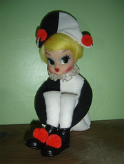 Harlequinn doll by FORGET ME NOT!!!