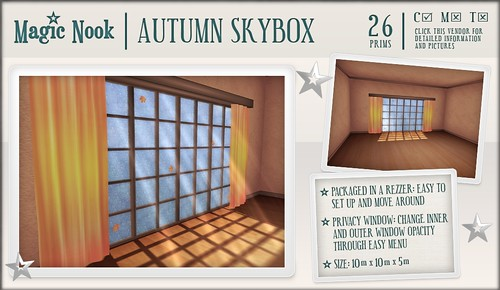 [MAGIC NOOK] Autumn Skybox
