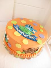 Dino Birthday Cake (Polkadots (Olga)) Tags: birthday cake austin factory dino dinosaur tx polkadots cupcake custombirthdaycake cowboybirthdaycake customweddingcake modernbirthdaycake childrenbirthdaycake adultsbirthdaycake customcakeaustintx customcupcakesaustintx polkadotscupcakefactoryaustintx customhandicedcookies weddingcakeaustintx animalfarmbirthdaycake customcakeaustin customhandicedsugarcookies moderncustomcakeaustintx