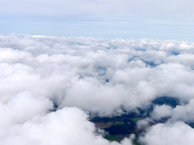 I love the clouds