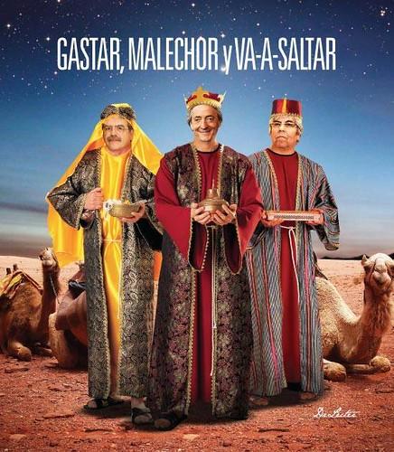 Melchor, Gaspar y Va-a-saltar