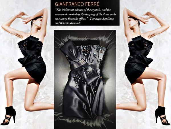 gianfranco ferre little black dress