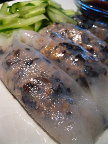 Singlish Swenglish Banh Cuon or Vietnamese Steam Rice Rolls