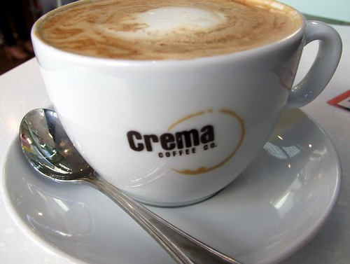 Soy Latte from Crema Coffee