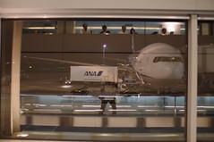 (Froschmann : ) Tags: japan airplane tokyo ana airport container  haneda hnd hanedaairport   k7   allnipponairlines  sigma30mmf14exdc