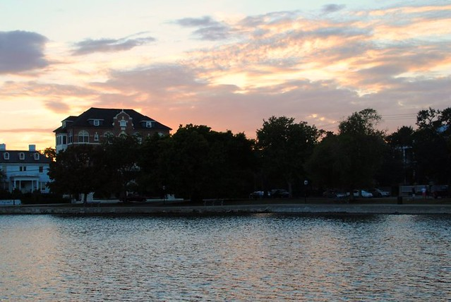 colonial lake.