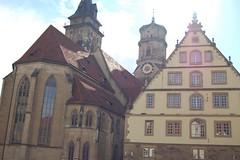 Downtown Stuttgart 11 (Ace2Sly) Tags: germany stuttgart stiftskirche wrttemberg downtownstuttgart