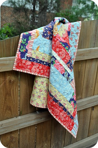 Country Cottage Lap Quilt