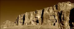 Naqsh-e Rustam (Behzad No) Tags: old history persian king iran tomb babak ardeshir fars nersi parseh nikond90 iranmap iranmapcom behzadno