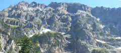 Columbia Peak 01 (North Cascades) Tags: panorama mountains washington hiking peak backpacking cascades montecristo northcascades snohomishcounty washingtoncascades