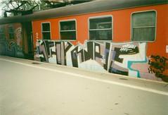 Warsaw (iamdek) Tags: train graffiti graf poland trains vandalism warsaw