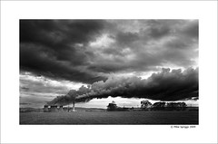 Rugeley Power Station (Mike. Spriggs) Tags: cloud station power towers coal staffordshire cooling fired rugeley rugeleypowerstation