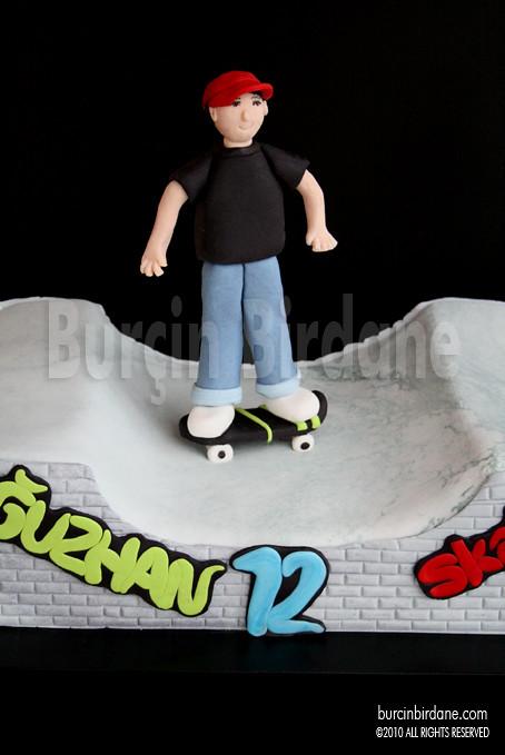 Skate Cake