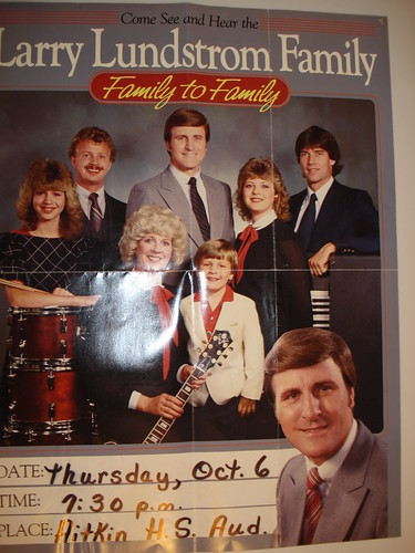 10/06/8? Larry Lundstrom Family @ Aitkin, MN (Poster)
