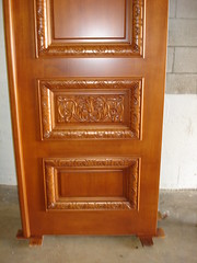 Custom Hand-Carved Wood Double Door (DecoDesignCenter.com) Tags: door wood wooden carved doors factory designer kentucky front carving made custom luxury carvings entry mahogany solid manufacture archtop arched handcarved