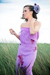 Leia (shaymurphy) Tags: ireland portrait irish woman cute sexy girl beautiful fashion female outside outdoors model pretty thomas gorgeous babe chick stunning backdrop brunette leia strobe strobist nikond700 nikkor2470
