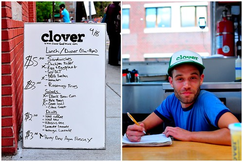 Clover Food Lab - Cambridge