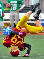 Breakin' on the play (Muncybr) Tags: football warriors freshman breakdancing westerville westervillenorth americasbestdancecrew brianmuncy muncybryahoocom westervillenorthwarriors dublinsciotoirish photographedbybrianmuncy