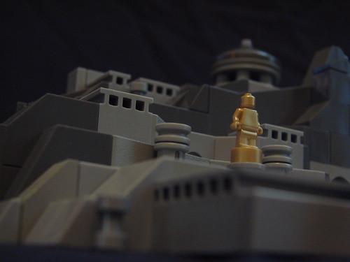 Microscale Lego Temple