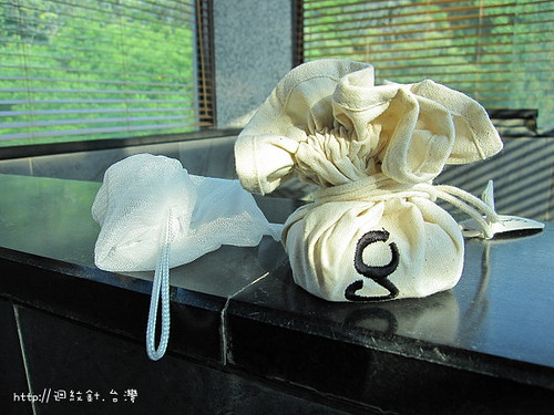 gamila secret 隨身棉布包與打皂網