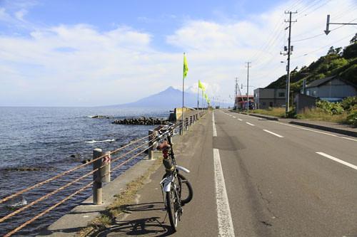 ソニーナビユー 北海道の礼文島で使用