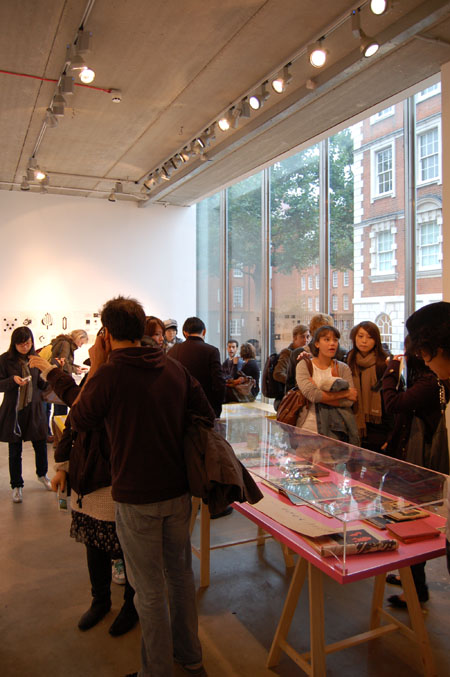 Kingston illustration students visit Process: The working practices of Barney Bubbles