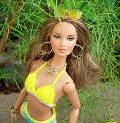 Miss  October (napudollworld) Tags: 2 beach face fashion october body south barbie wave dynamite miss royalty mattel aria