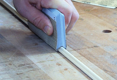 Sanding Small Mouldings