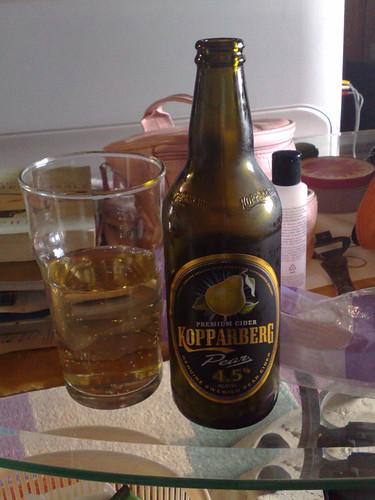Alcoholic pear cider recipe