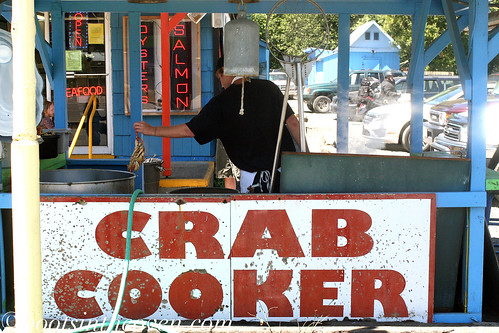 Crab Cookin'!