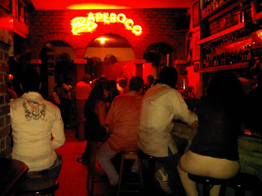 Zaperoco salsa bar
