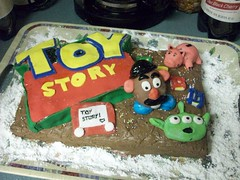 I made a Toy Story cake. (AllTimeLorraine) Tags: music toystory random starbucks icecream alltimelow jacvanek