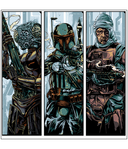Mondo: Bounty Hunters Wave 2 Print