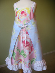 Anna dress w/ PB sheets (back)