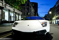 Lamborghini Murcielago LP-670 (Murphy Photography) Tags: street old summer london car night shot box plate super harrods arab lp lamborghini supercar sv londen murcielago 670 177 arabs sloane veloci