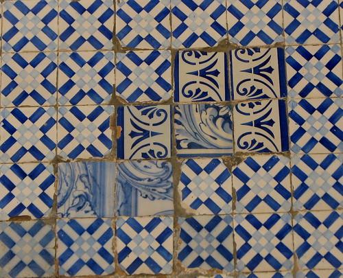 Improviso no azulejo 2 - para a Loca-Bandoca