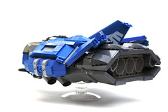 Tactical Assault Scout (2) (Chase Lewis [Vid]) Tags: ship lego space military scout legos heavy gunship moc