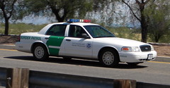 "Border Patrol Crown Victoria (bloo_96 ""Daniel DeSart"") Tags: cars ford car sedan us cops united police victoria cop vic crown law states enforcement cruiser patrol interceptor copcar cron cvpi copscar"