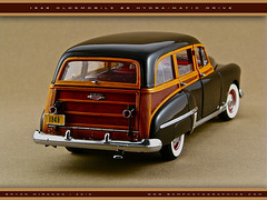 Oldsmobile 1949 88 Station Wagon (Motorcar Miniatures) Tags: 88 1949 oldsmobile stationwagon danburymint