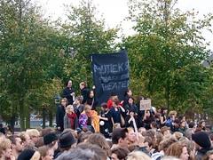 Studenten protest