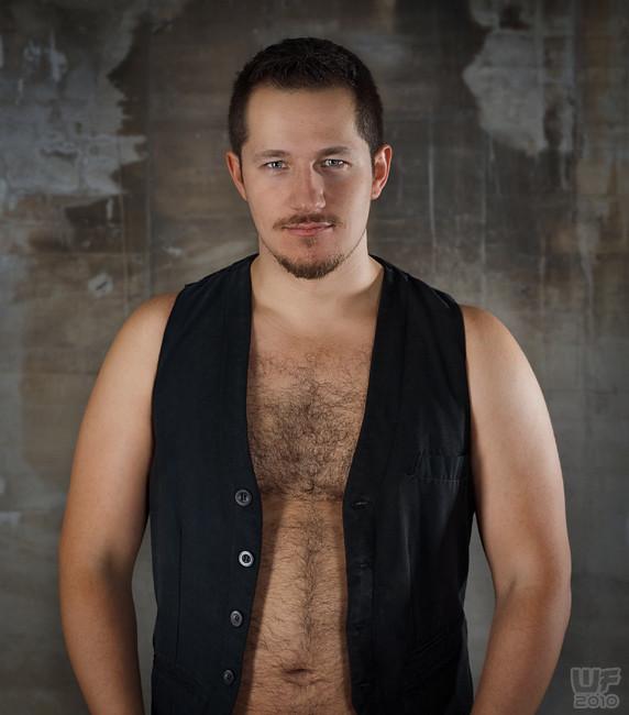 Hairy virile bear spurts