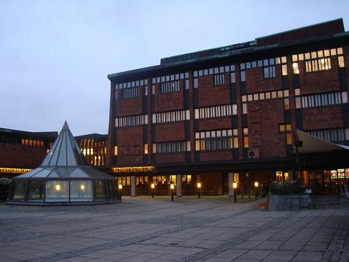 Kulturhus en Skövde, foto: antianki