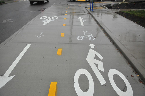 Cycle Track via BikePortland