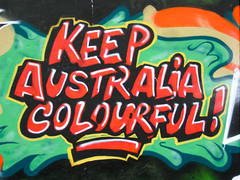 keep Australia Colourful